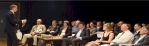 Nigel Temple delivering a presentation